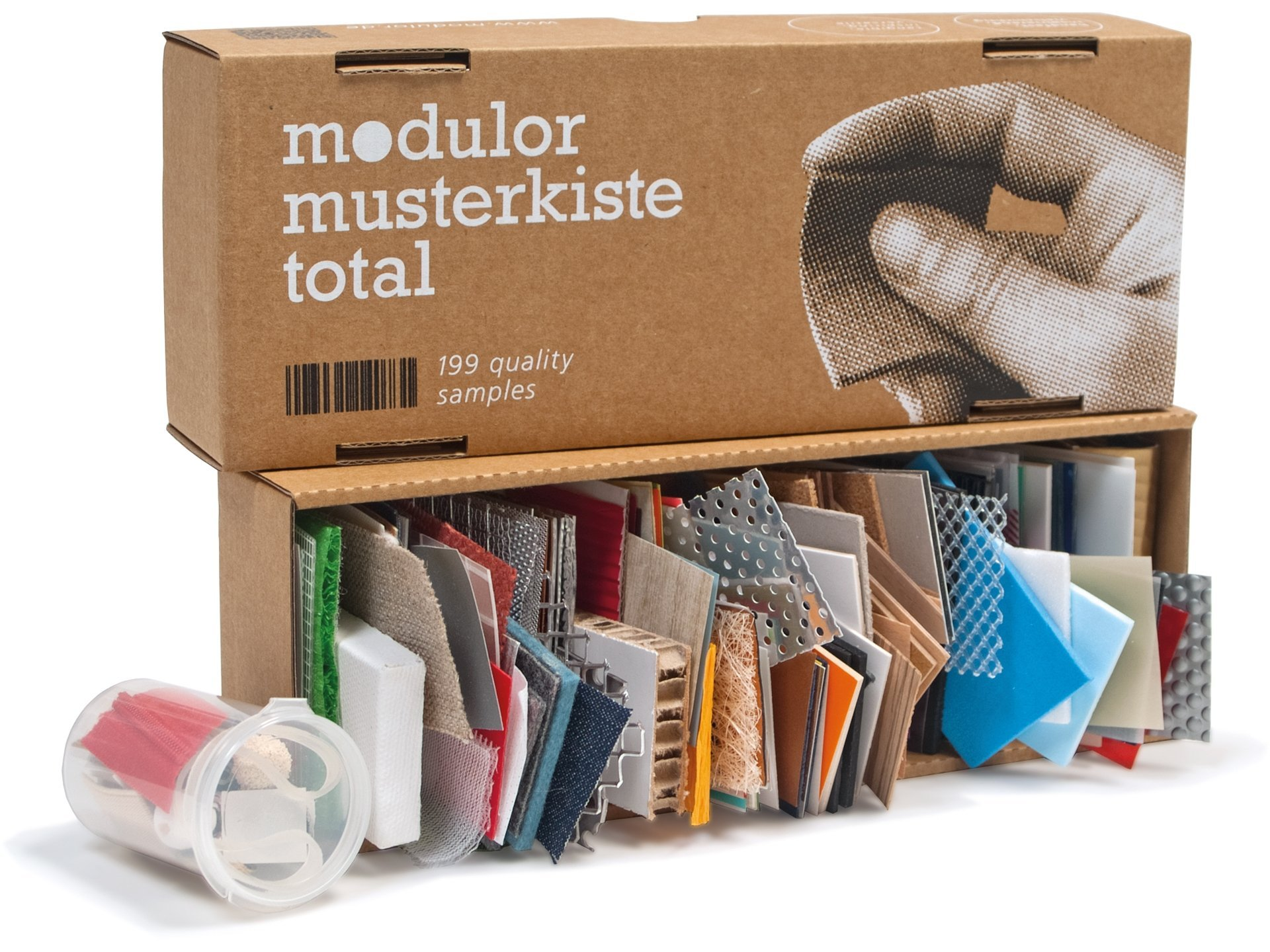 Modulor Shop Sample Box Tollebild
