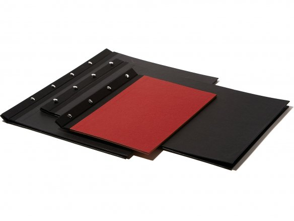 Buy Post presentation album with linen spine online at Modulor