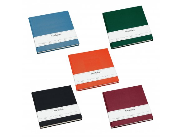Buy Semikolon diary and guest book, linen cover online at Modulor