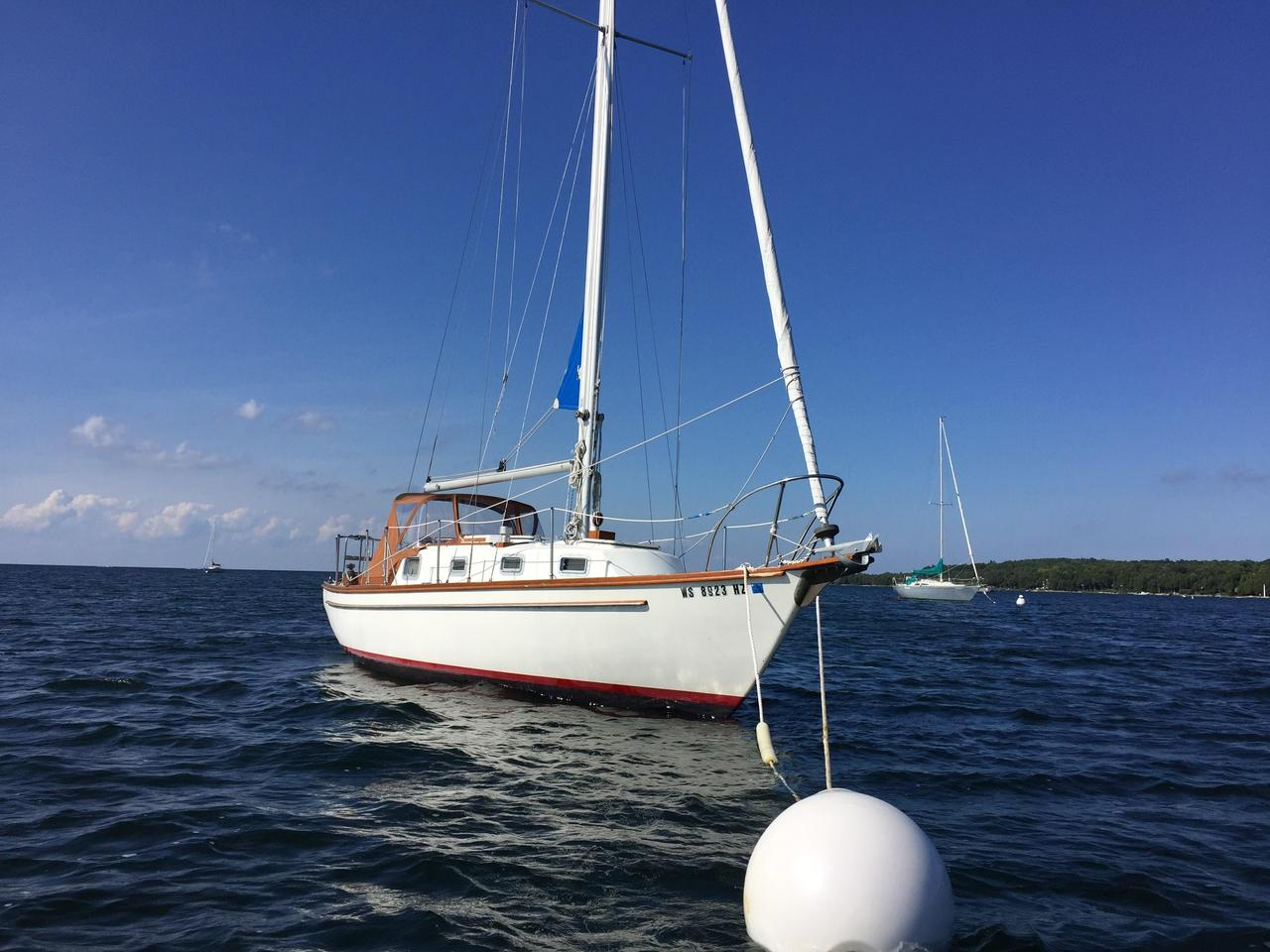 Dory Vis 1975 Used Cape Dory 28 Sloop Sailboat For Sale 22 000 Sister
