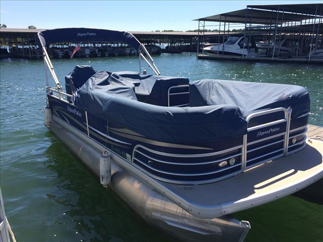2009 Used Aqua Patio Ap 220 Bc3 Pontoon Boat For Sale
