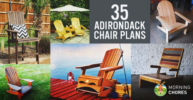 35 Free Diy Adirondack Chair Plans Ideas For Relaxing In