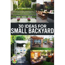 Jolly Small Backyard Ideas That Will Make Your Backyard Look Big Small Backyard Ideas