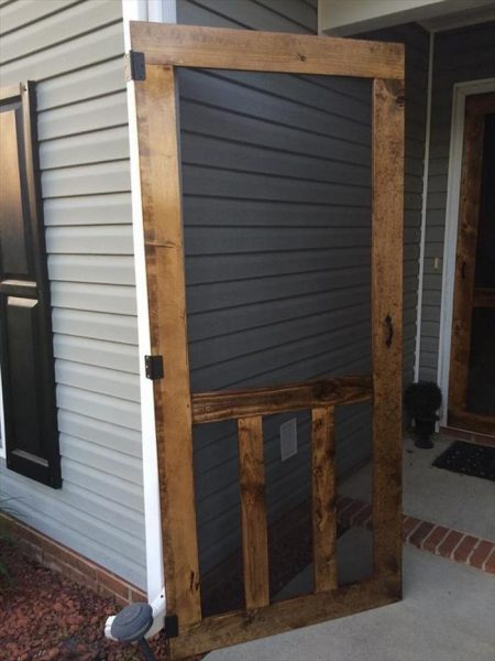 24 Awesome DIY Screen Door Ideas to Build New or Upcycle