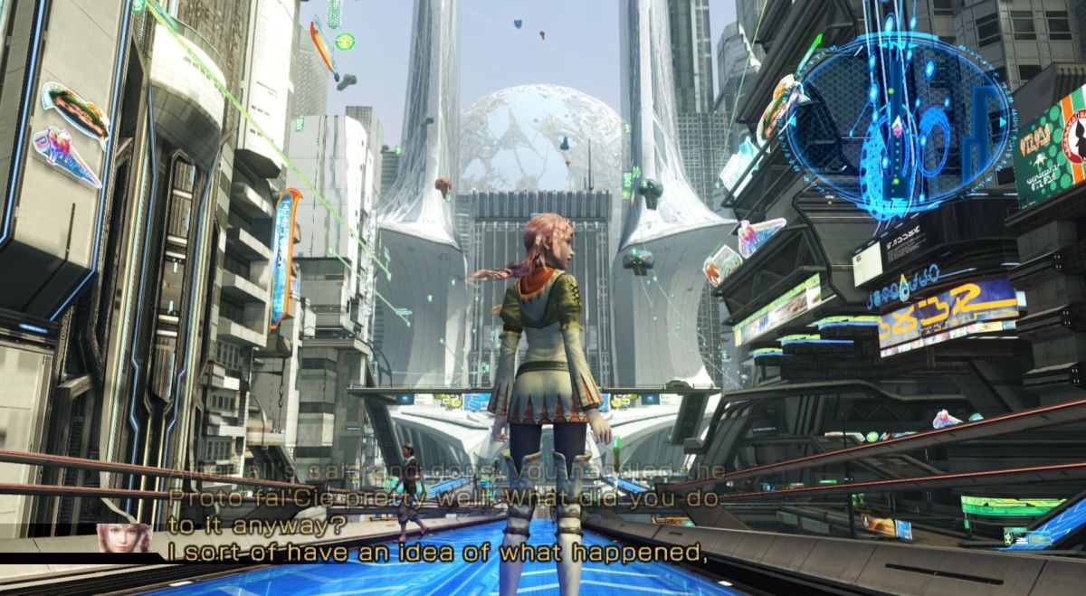 Unseen Girl Wallpaper Final Fantasy Xiii 2 Review Pc Gamer
