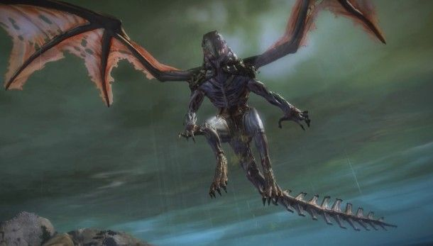 Fortnite Wallpaper Falling From The Sky Guild Wars 2 S Tequatl Rising Update Will Improve A Dragon