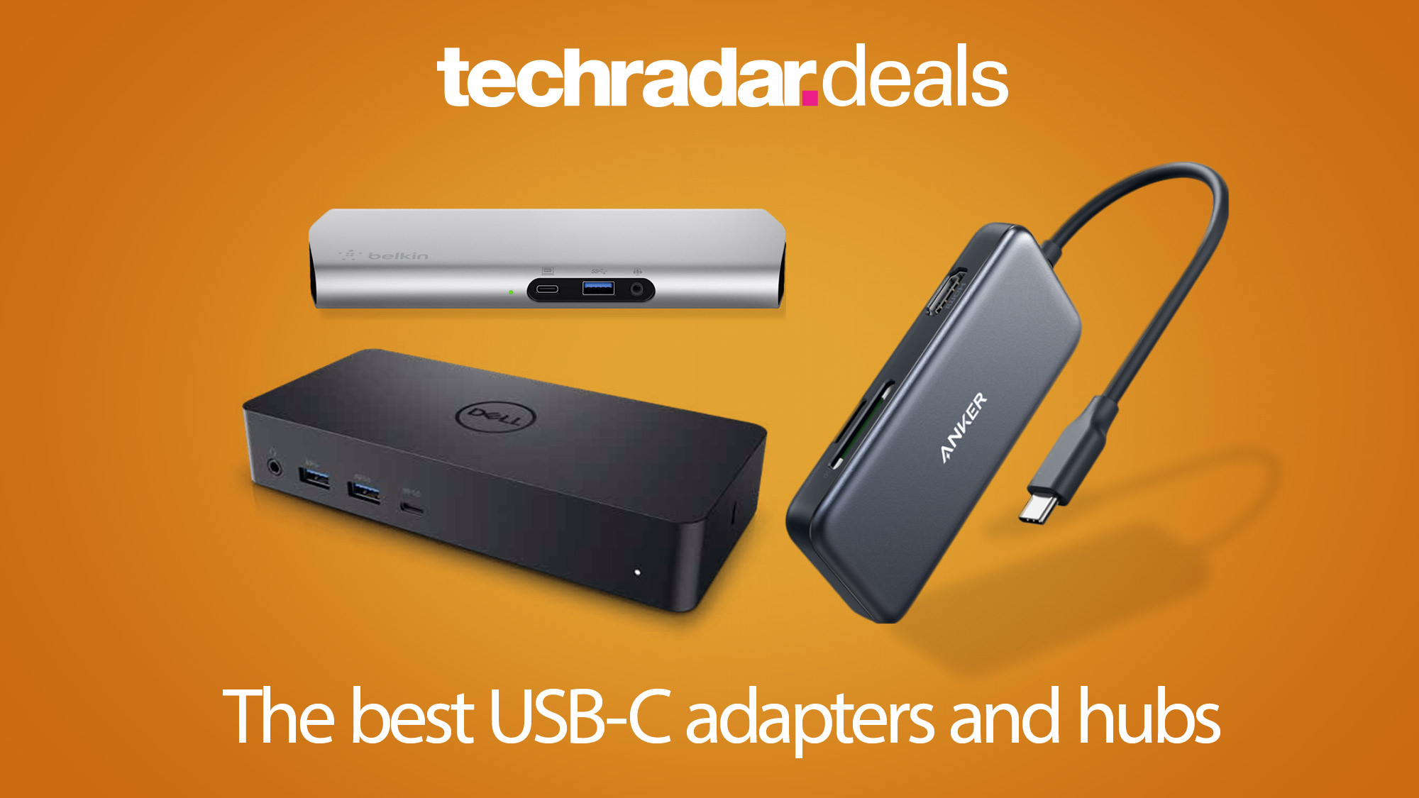 Usb C The Best Usb-c Adapters 2020: The Best Deals For Macbook Pros And Laptop Users | Techradar