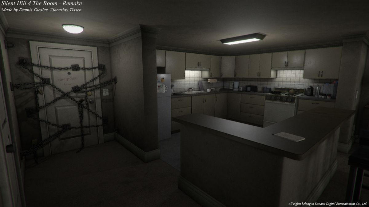 Kitchen Design Software For Pc Silent Hill 4's Creepy Apartment Recreated In Unity | Pc Gamer