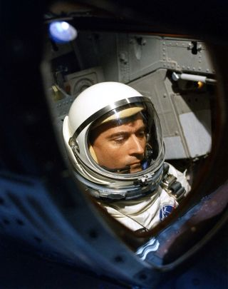 John Young in Photos Astronaut, Moonwalker and Space Shuttle