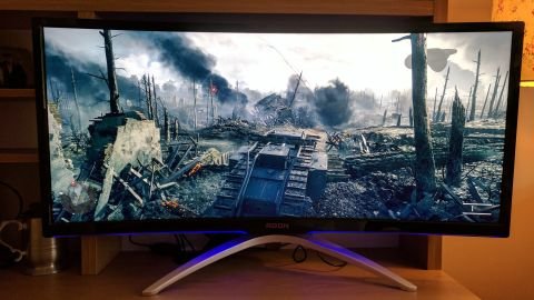 Pubg Ultrawide Wallpaper Aoc Agon Ag352ucg Gaming Monitor Review Techradar