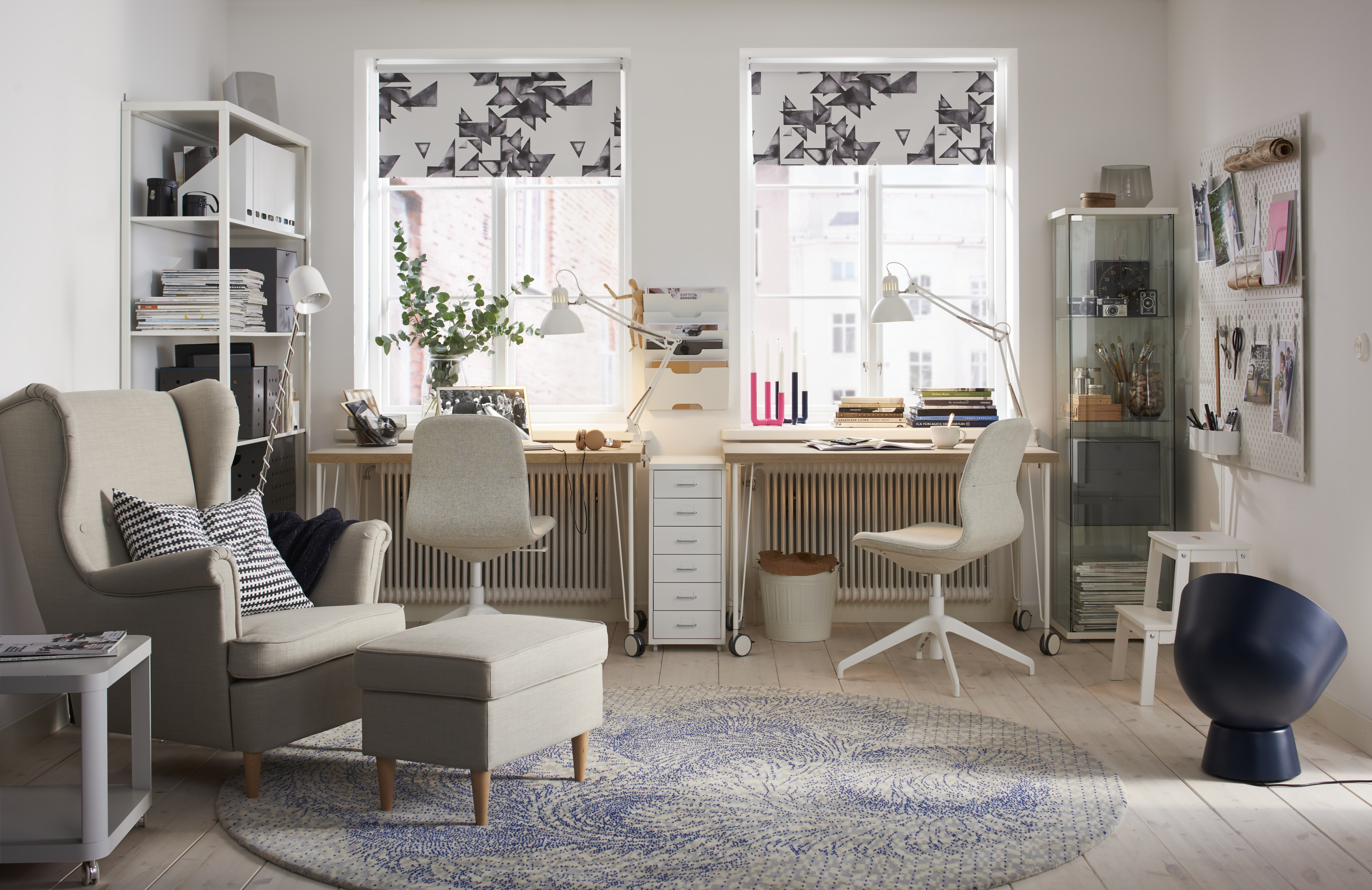 Woonkamer Set Modern How To Design A Home Office Real Homes