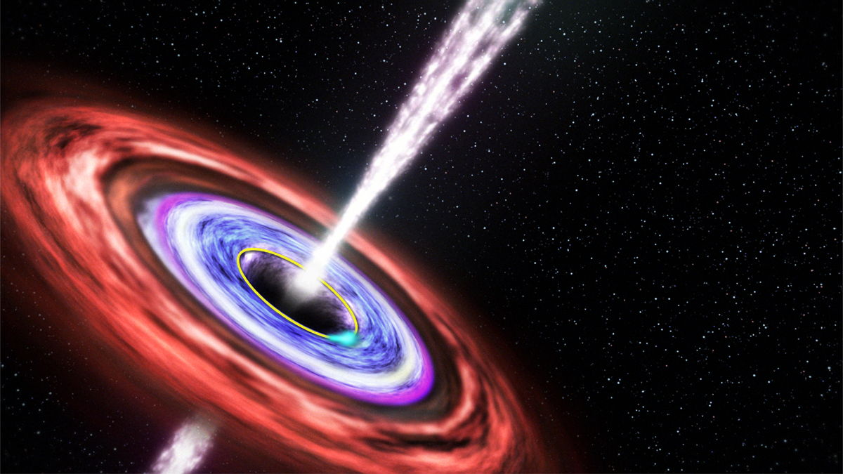 Agnes One Step Gamma Black Holes Spew Out Surprise Space
