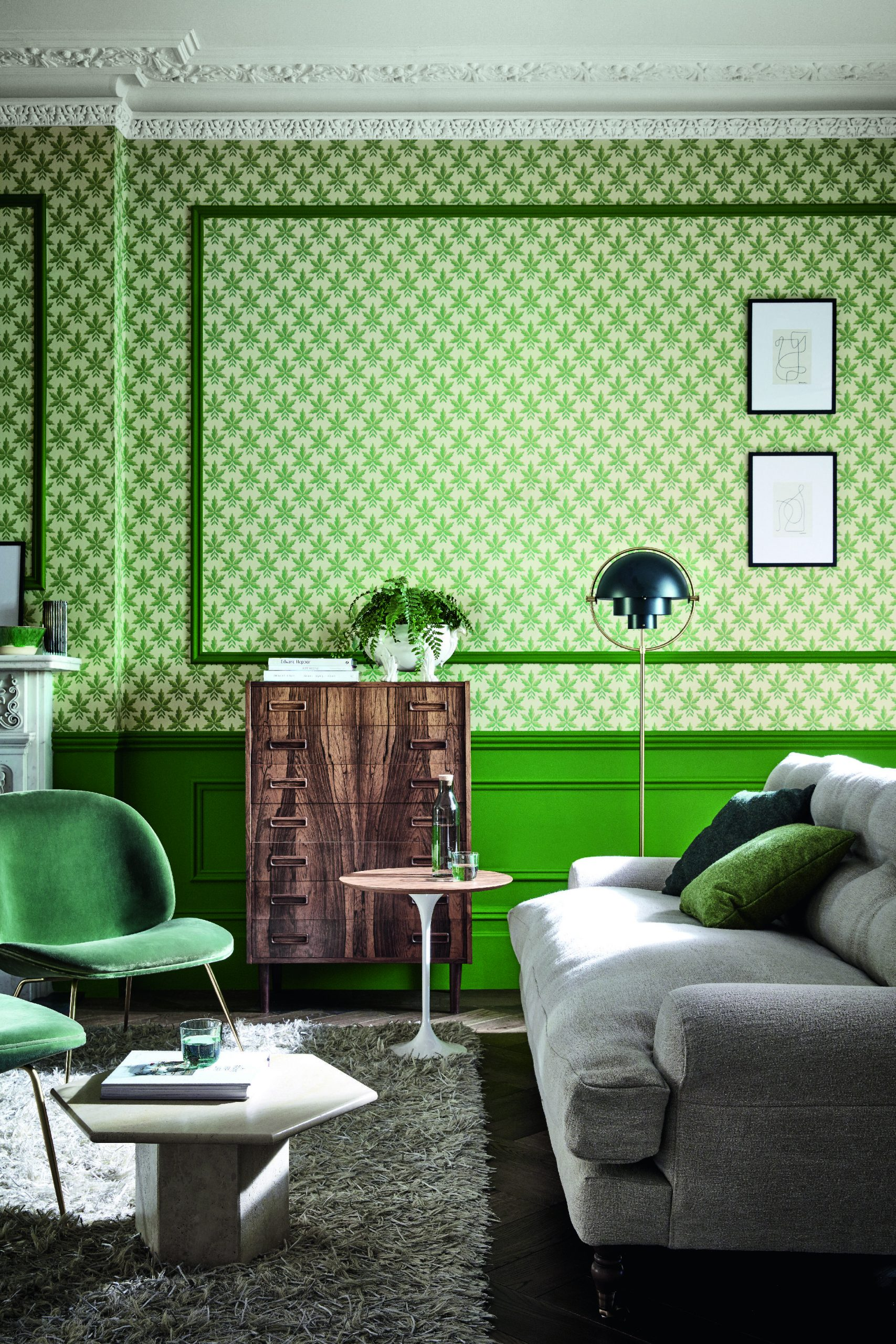 Wallpaper Ideas The Most Chic And Stylish New Looks Livingetc