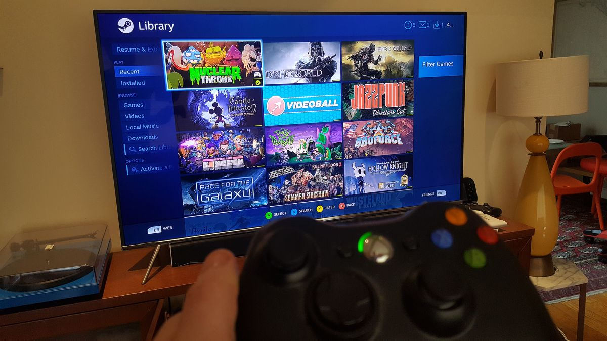 Meuble Tv Pc Samsung Tvs Have A New Steam Link Streaming App That Works