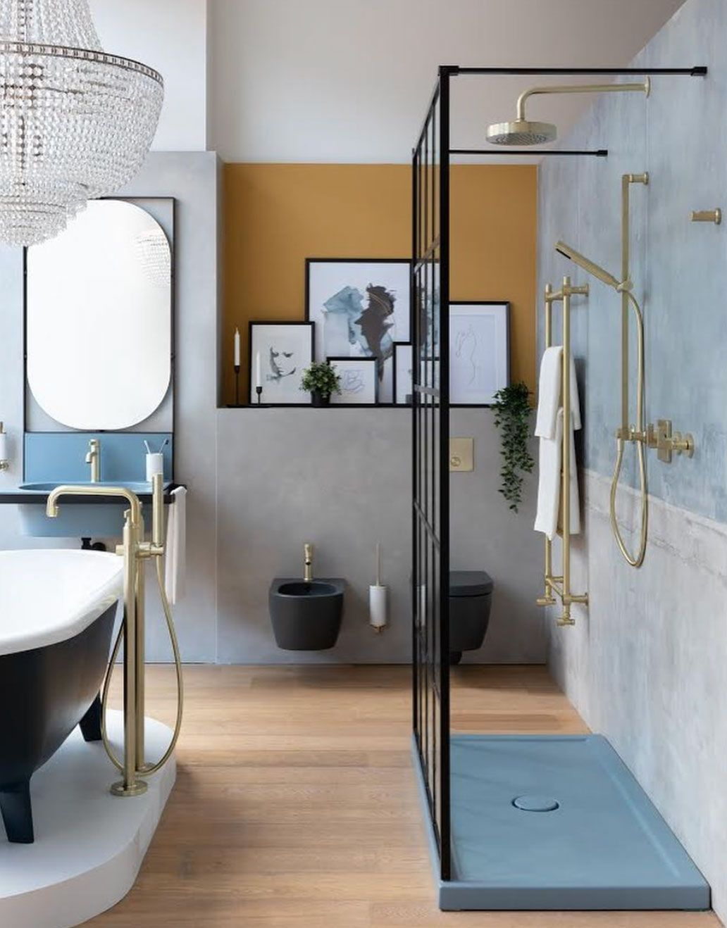Bathroom Art Ideas Homes Gardens
