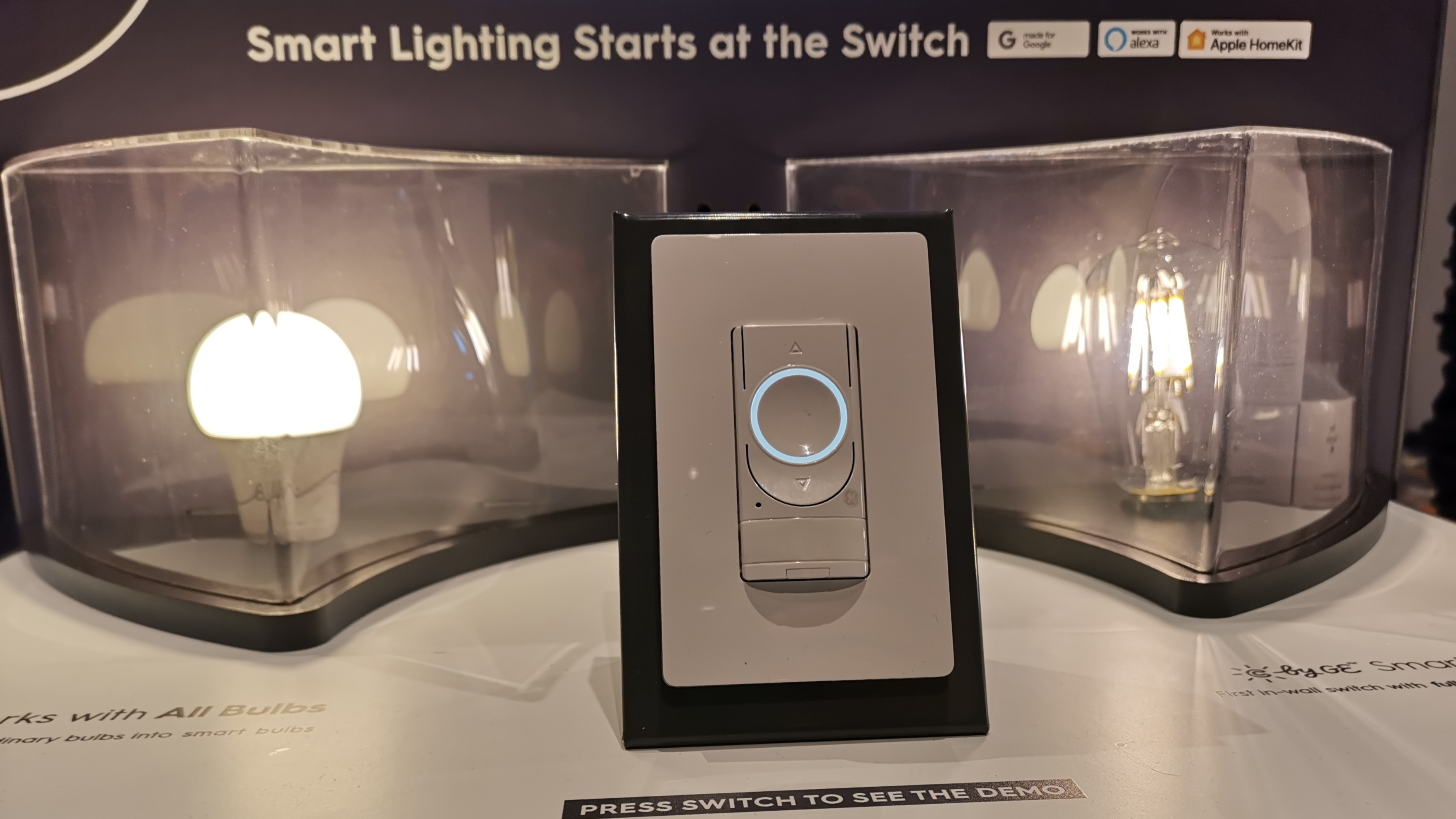 Smart Lighting Ge Lighting Introduces New Dimmer Switches And Smart Bulbs At Ces
