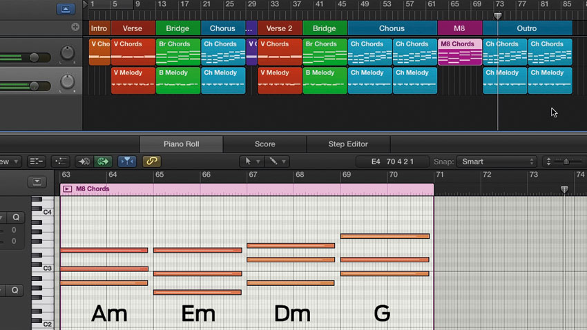 How to turn a basic chord progression into an arrangement MusicRadar