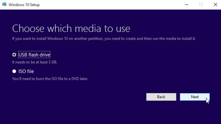 How to install Windows 10 from a bootable disc T3