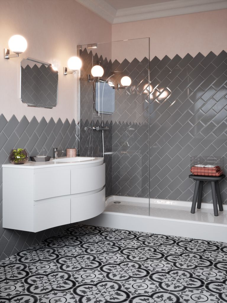 5 Beautiful Grey Bathrooms To Inspire A Glamourous Makeover Real Homes