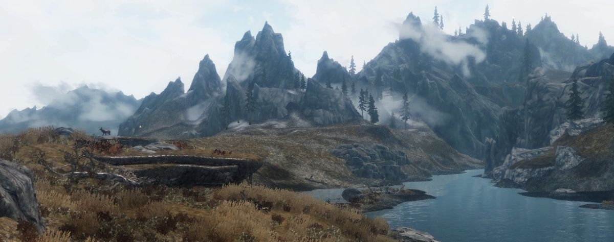 Minecraft Wallpaper Hd Download Skyrim Enhanced Terrain Mod Increases Detail Of Distant