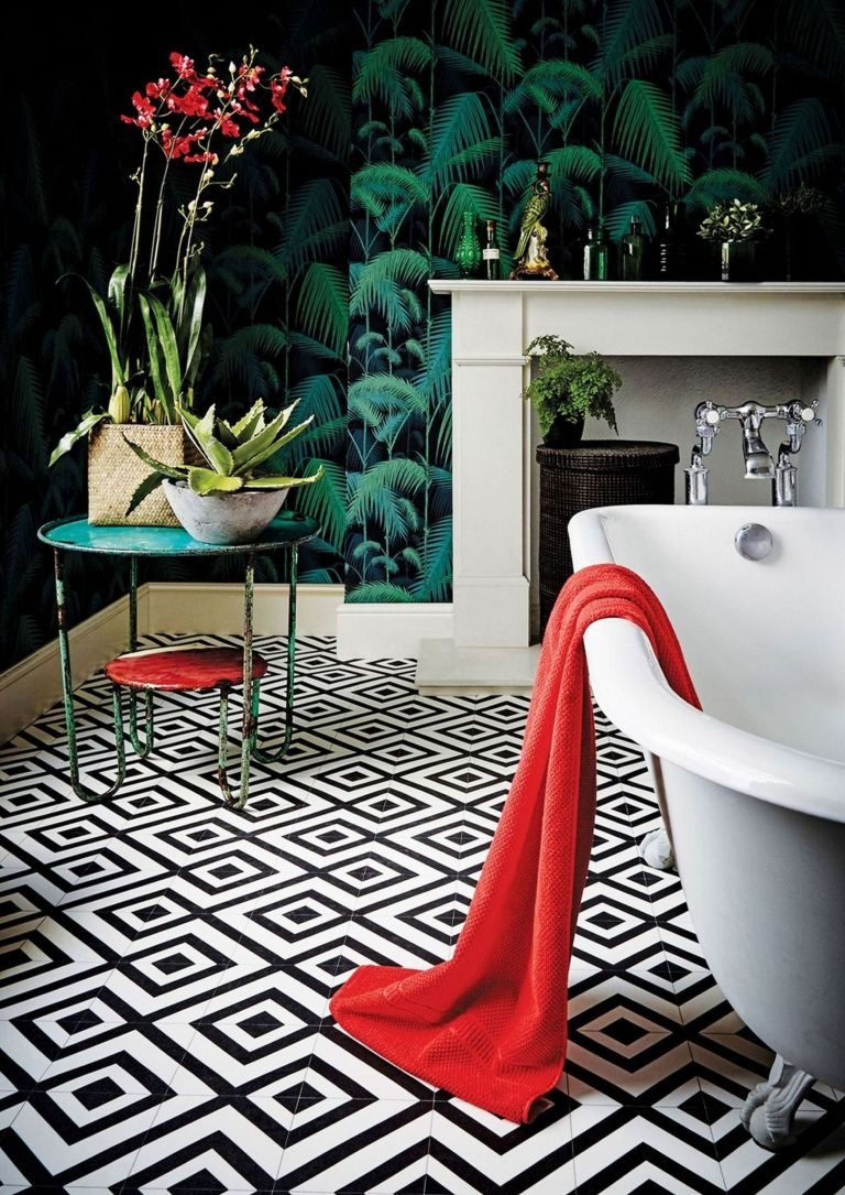 Bathroom Floor Tile Ideas 12 Beautiful Tile Designs To Inspire Your Scheme Real Homes