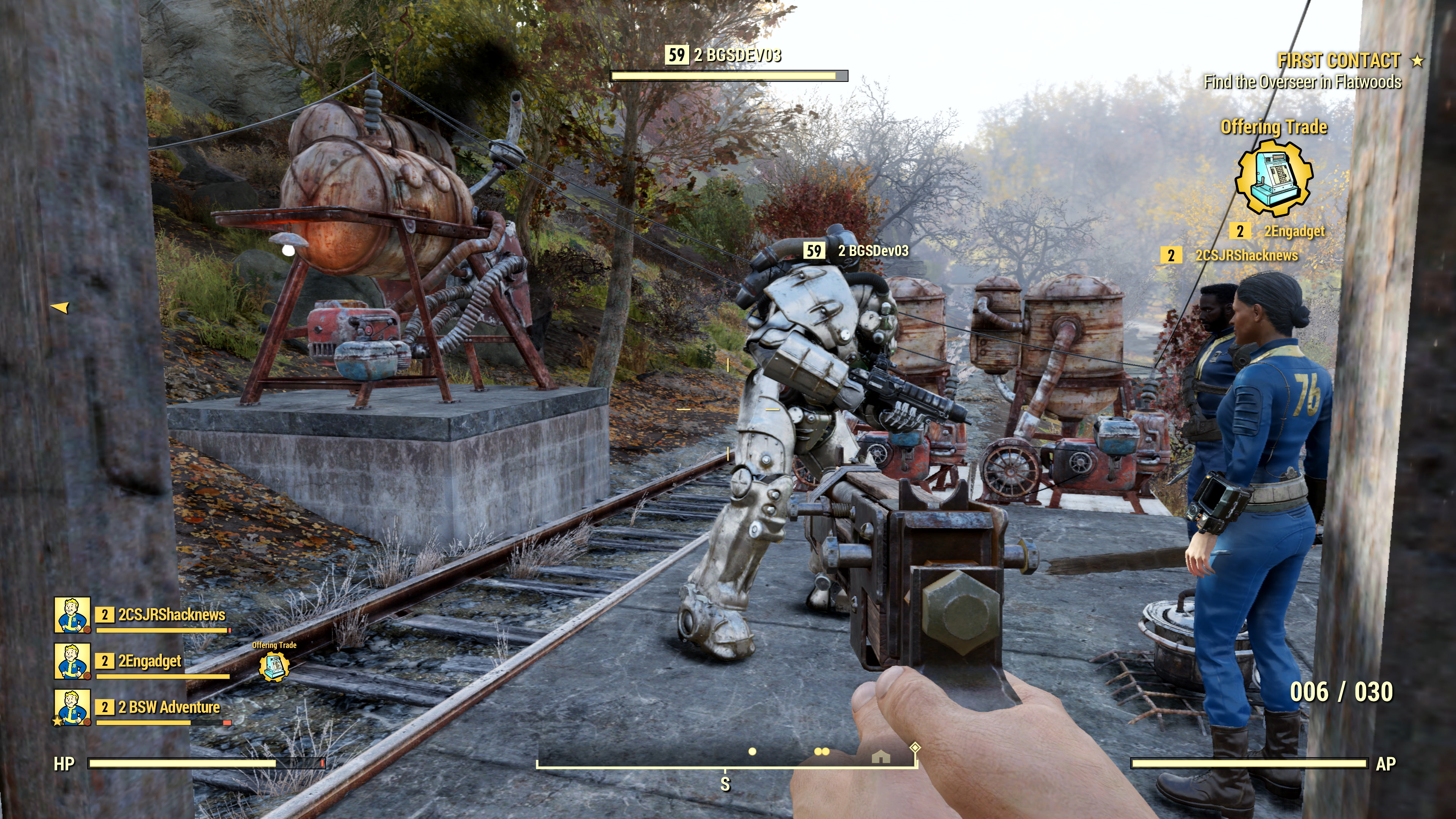 Fallout 76 The Enclave Are One Of Fallout 76 S Factions Bethesda Confirms