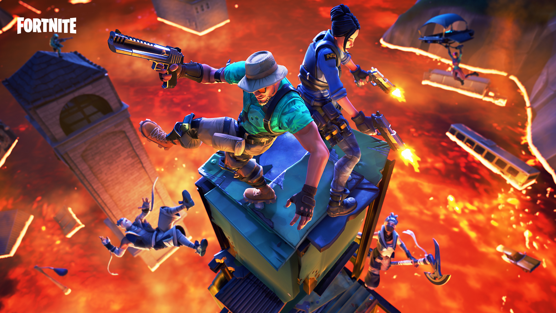 Arena Game Fortnite Update 8 20 Adds Ranked Arena Mode And A Floor Is Lava