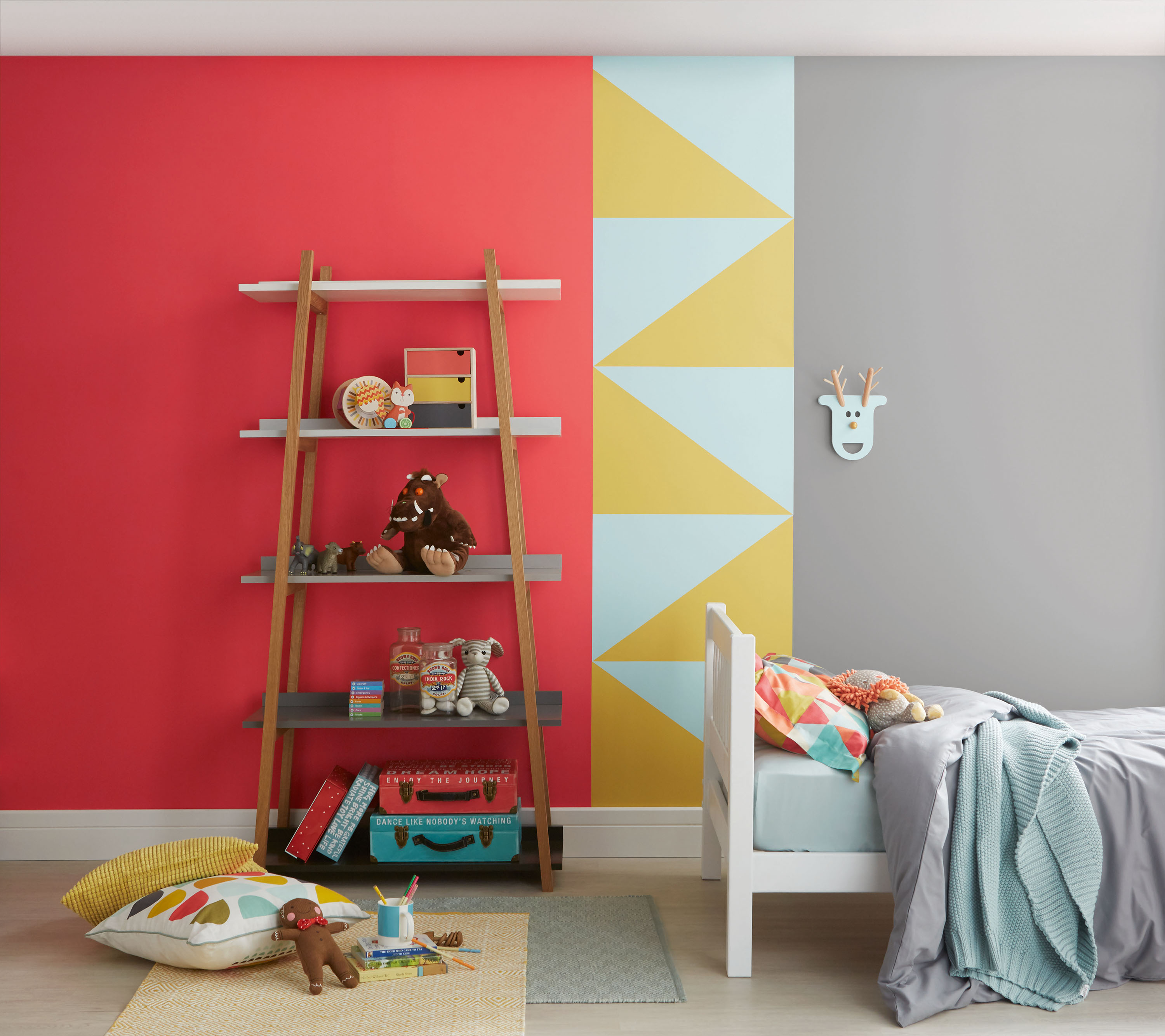 Childrens Bedroom Colour Schemes Paint Colour Schemes For Kids Bedrooms 15 Bright Ideas Real Homes