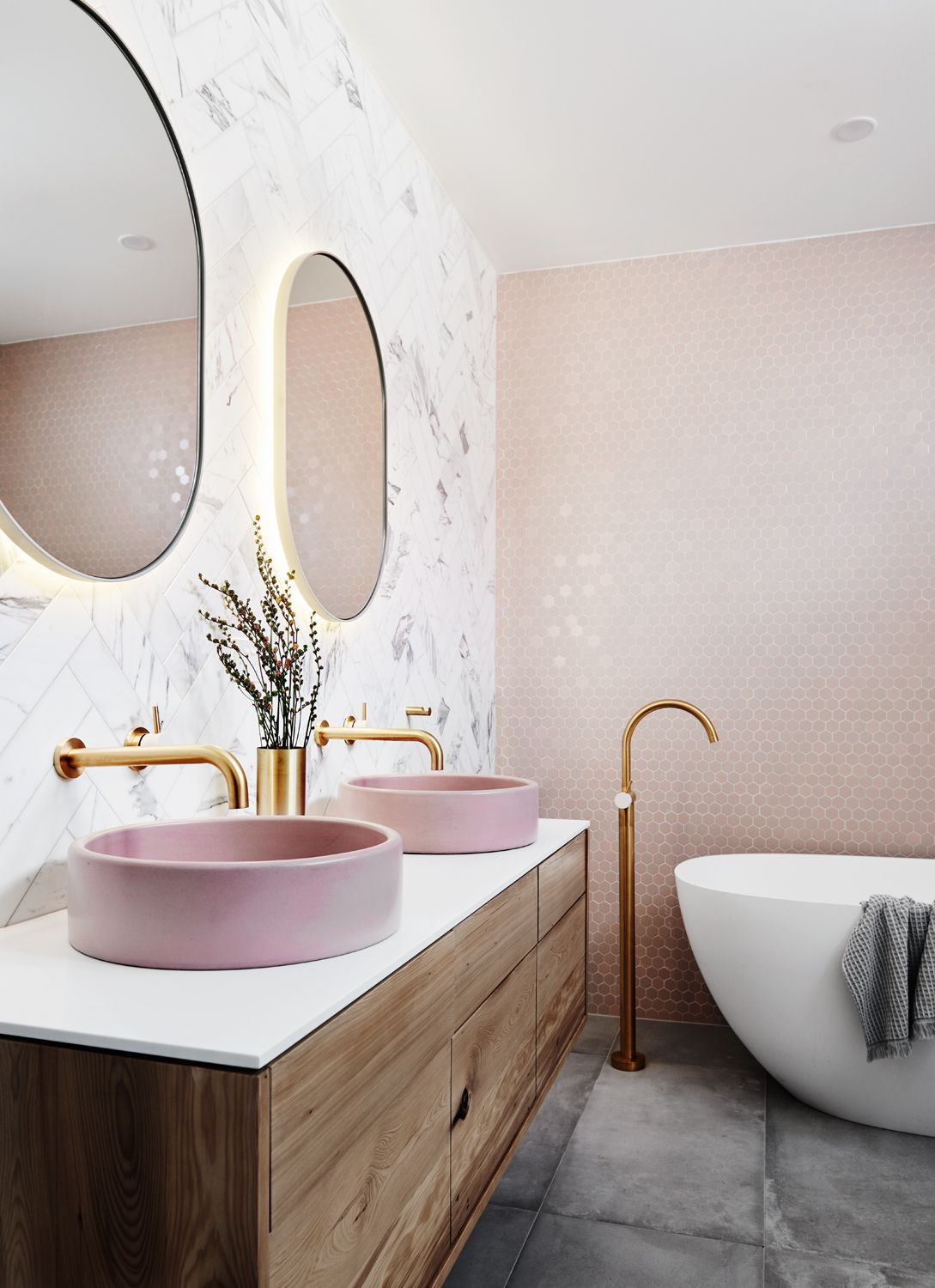 23 Luxury Bathrooms To Create A Hotel Feel At Home Real Homes