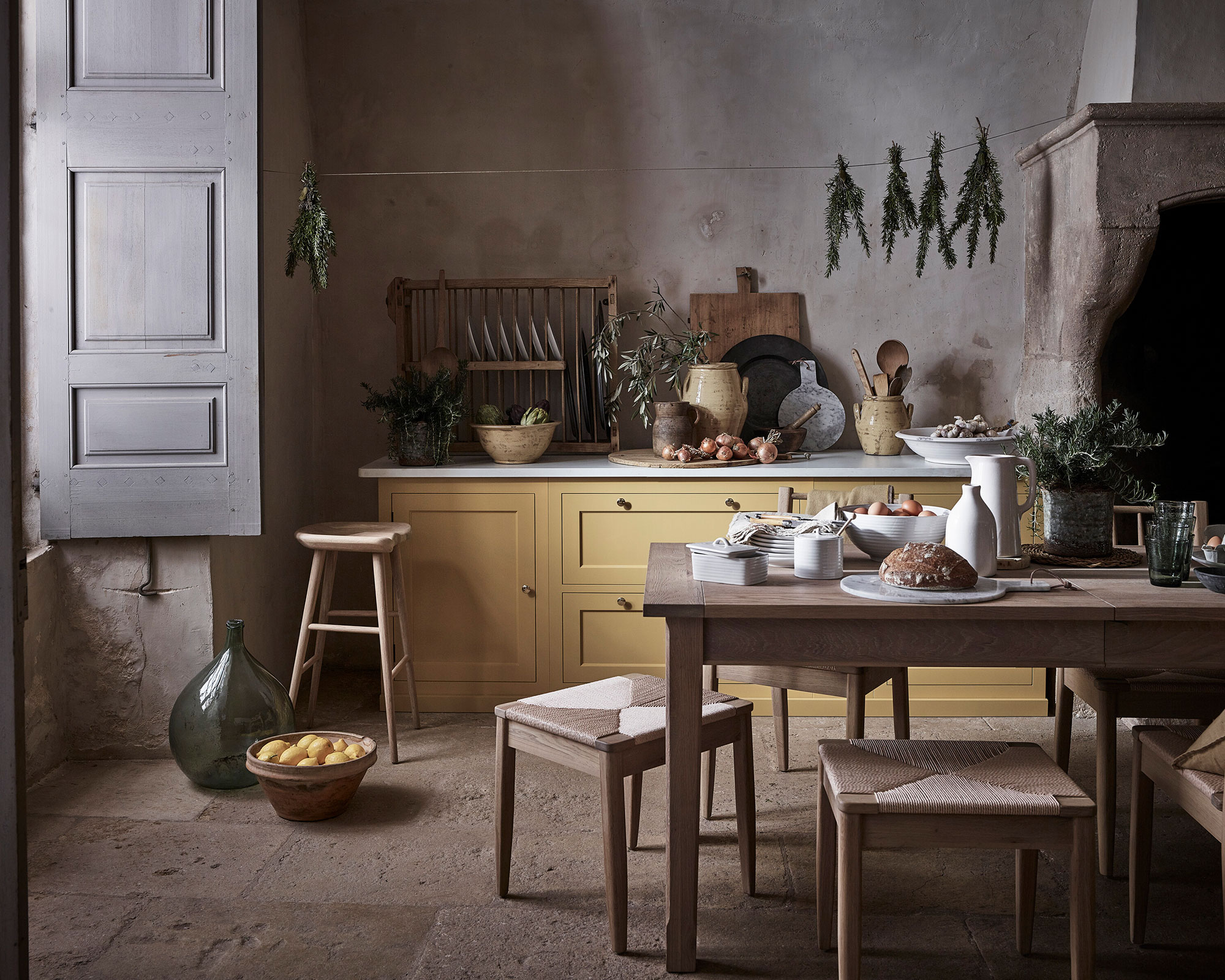 French Country Kitchen Ideas Take A Rustic Approach To Fixtures And Furnishings Country
