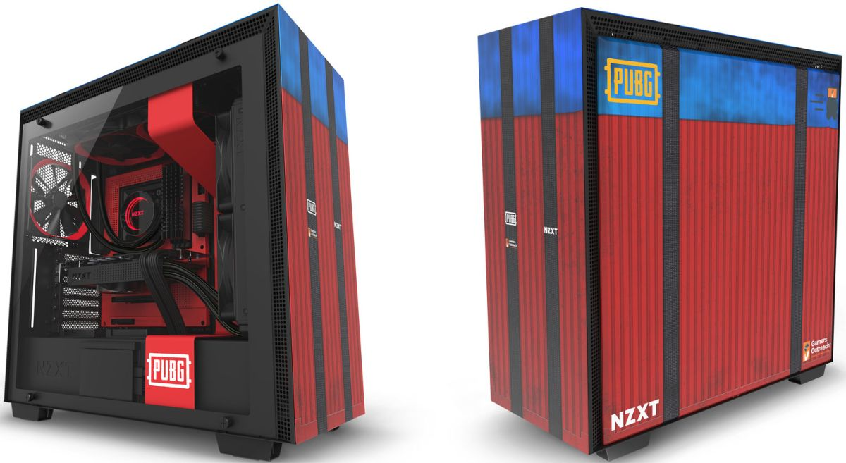 Nzxt Case Nzxt Made A Pubg-themed Version Of Our Favorite Computer