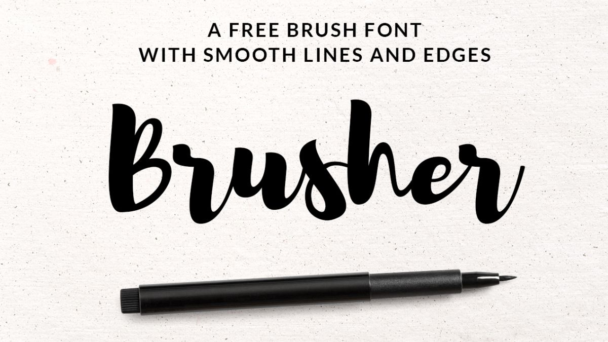 The Best Free Brush Fonts Creative Bloq