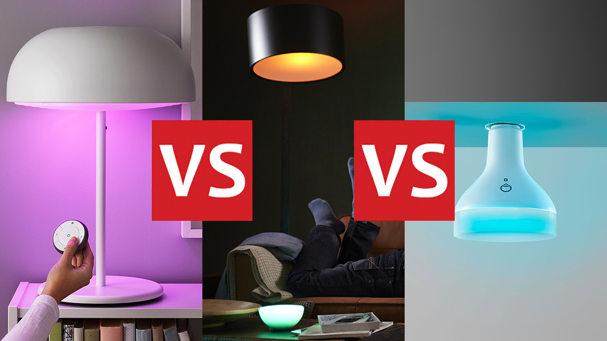 Ikea Tradfri Ikea Tradfri Vs Philips Hue Vs Lifx Smart Light Brands Head To