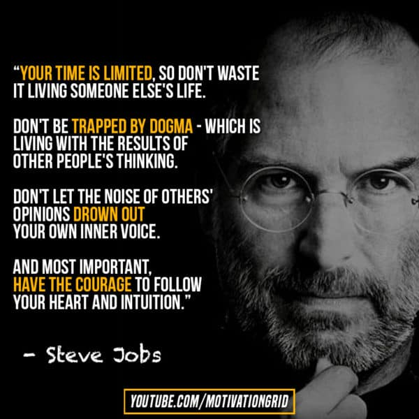 Steve Jobs Quotes Your Time Is Limited Wallpaper 22 Great Quotes About Time That Will Make You Appreciate It