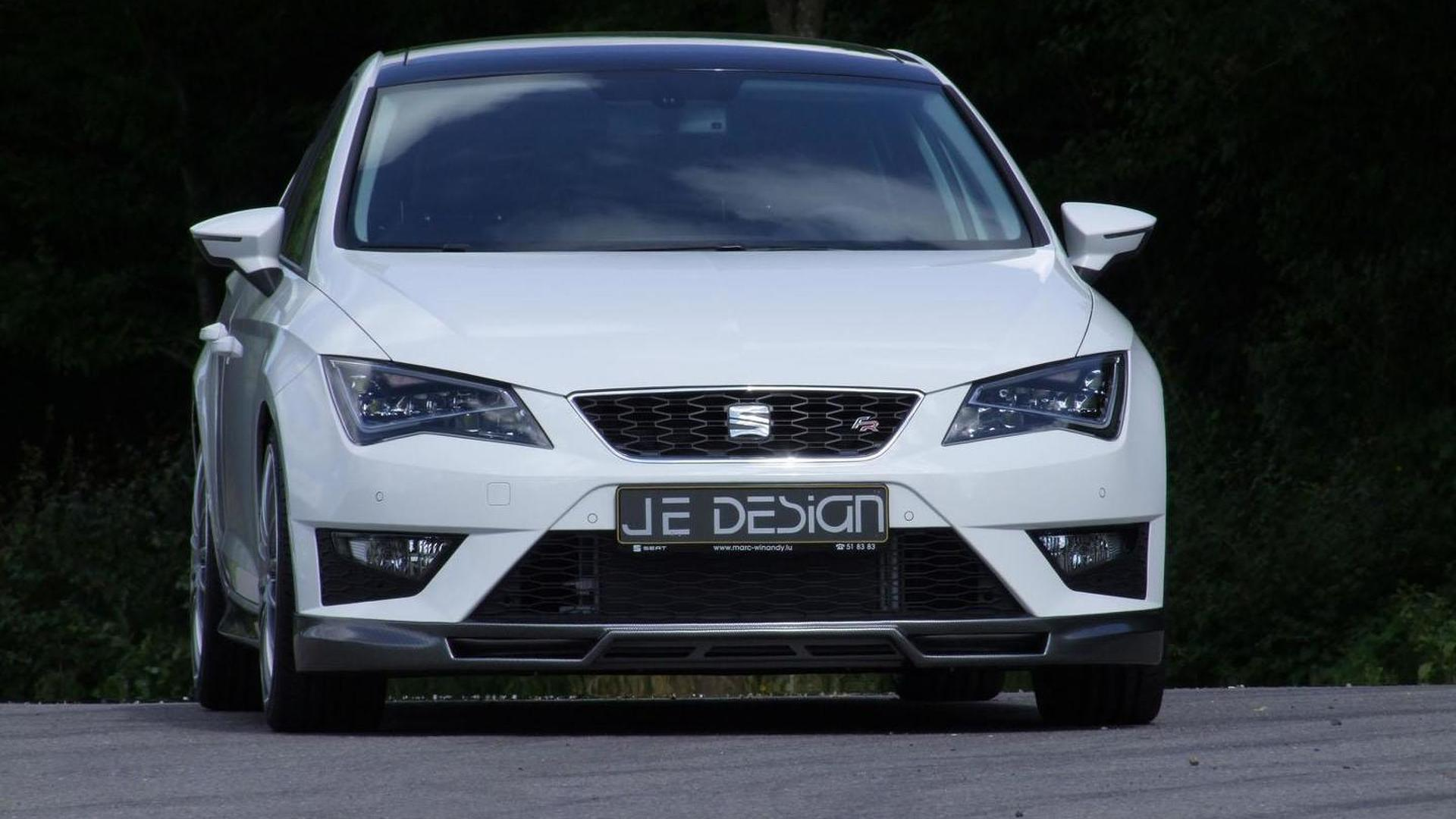 Seat Weiß Seat Leon Fr Gets Tuned By Je Design