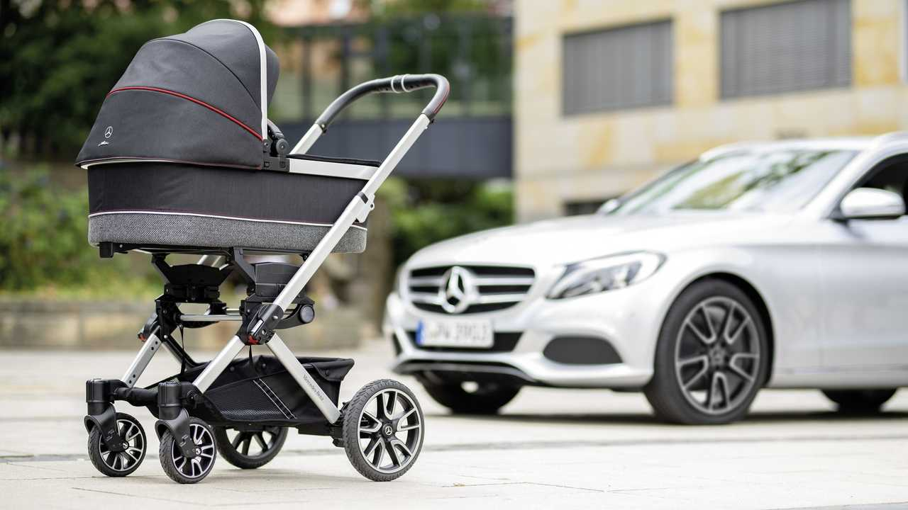 Twin Stroller Usa The Mercedes Of Baby Strollers Rides On C Class Amg Wheels