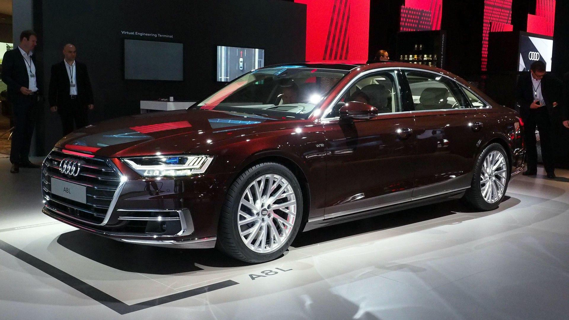 Garage Audi Tours 2018 Audi A8 Has Lasers Foot Massagers And A Big Price Tag