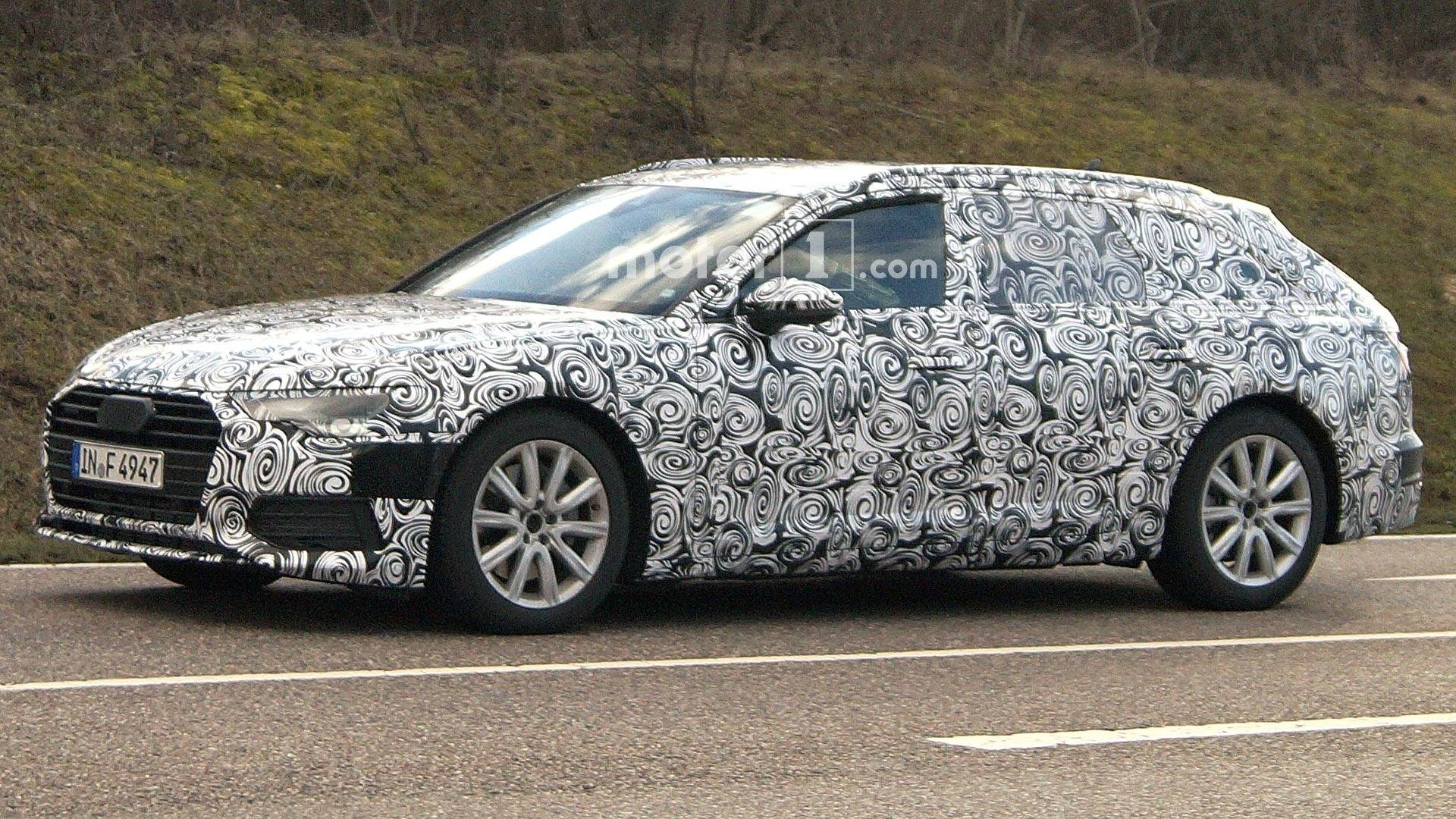 Kindersitz Test Suv Next Audi A6 Avant Spied Showing Its Longer Roof