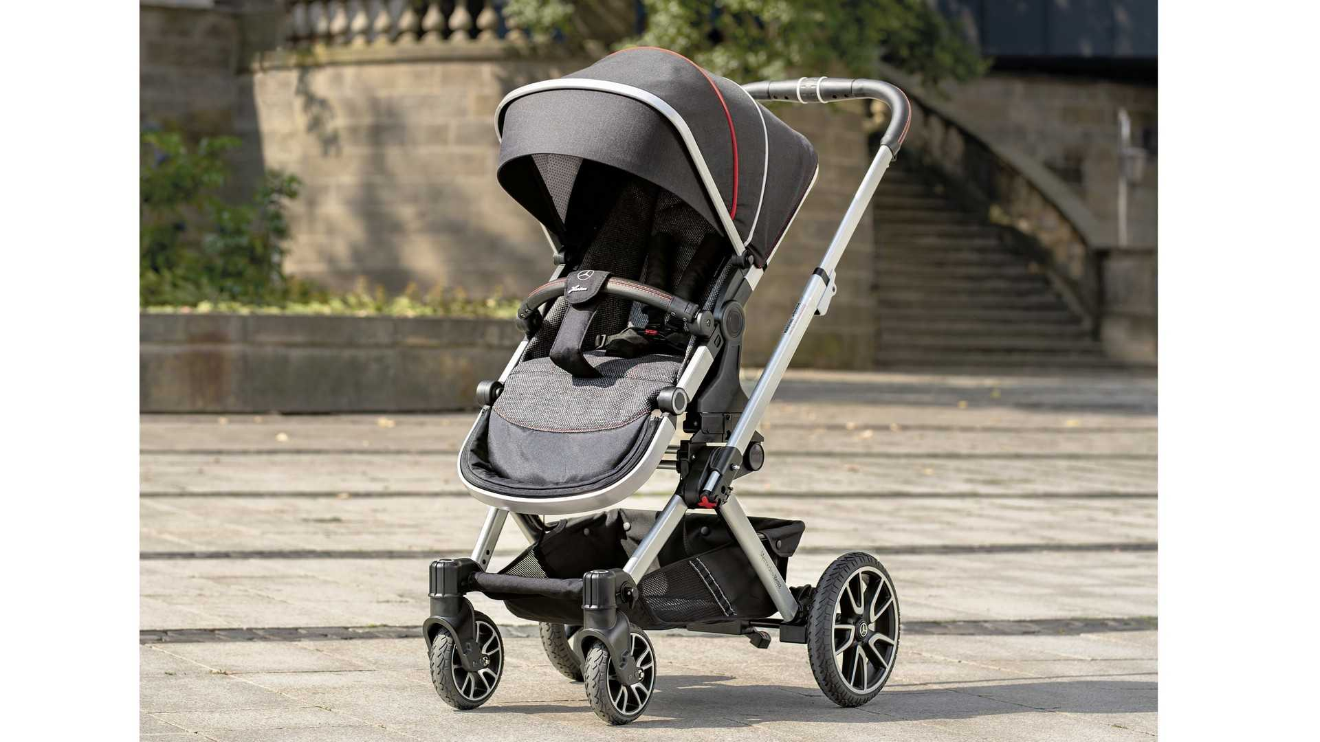 Baby Buggy Mercedes The Mercedes Of Baby Strollers Rides On C Class Amg Wheels