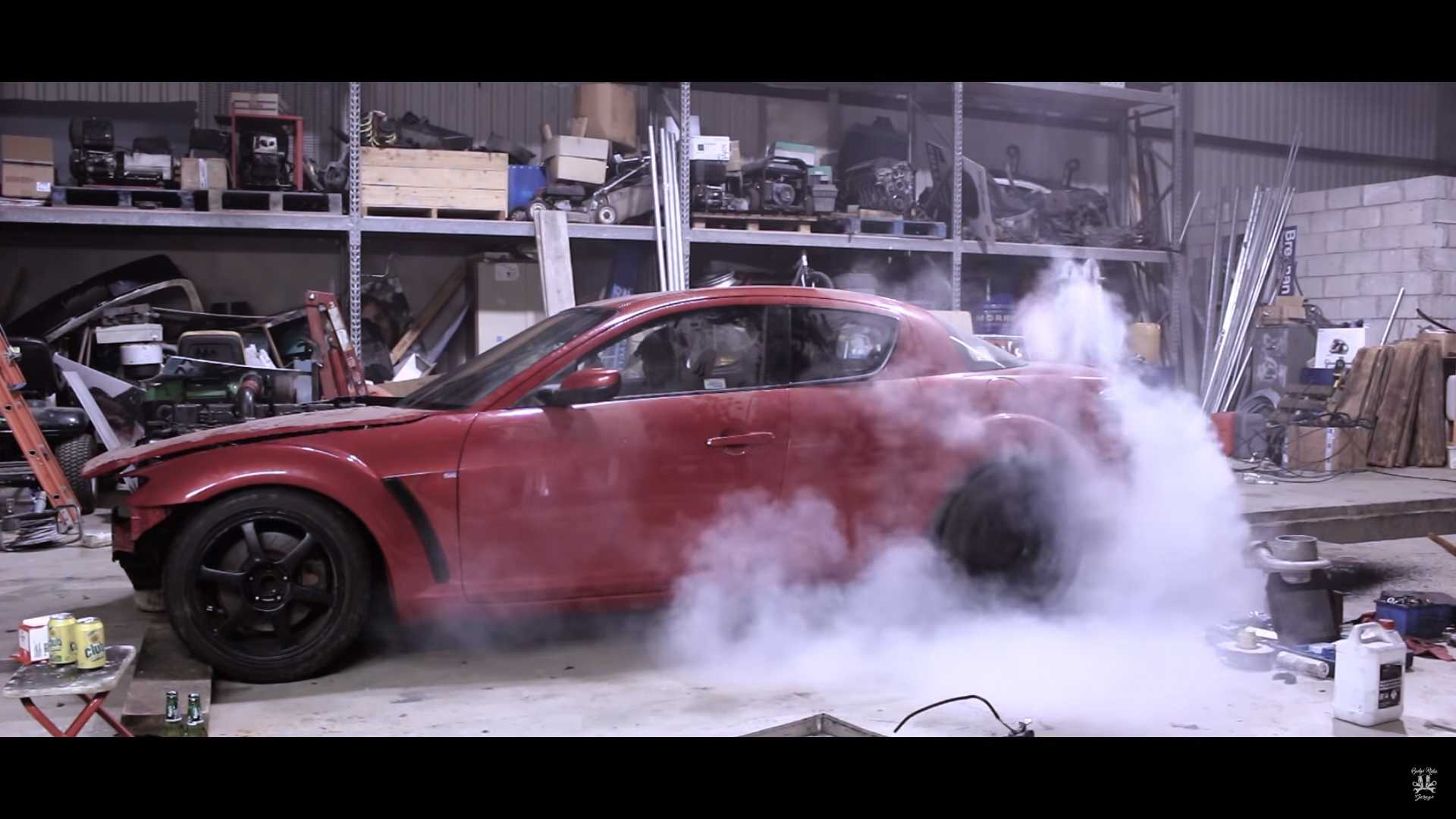 Garage Bmw Angers Crazy Mazda Rx 8 With A Cummins Diesel Swap Angers Everyone