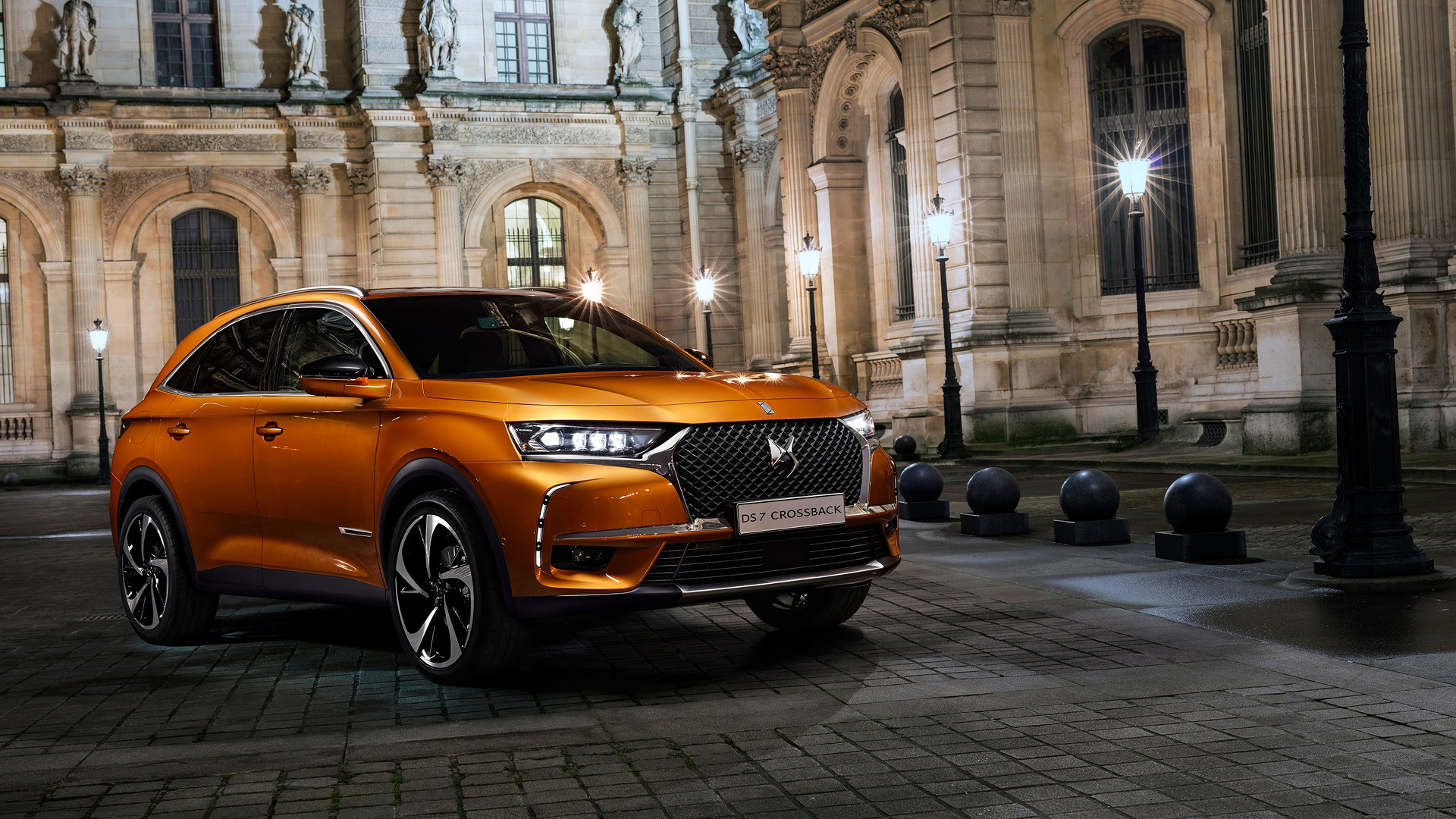 Citroen Ds7 Ds 7 Crossback Suv Debuts With A Hybrid Engine Handsome Design