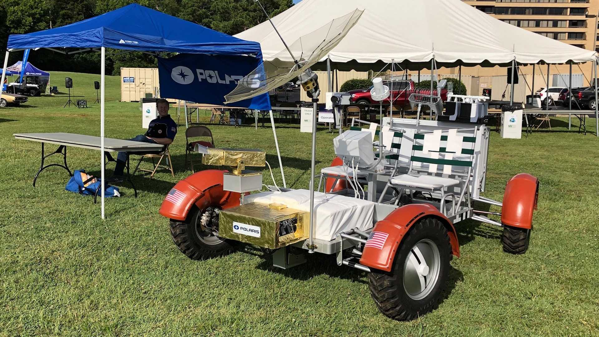 Moon Buggy Diy Polaris Built A Working Lunar Rover Replica And It S Awesome