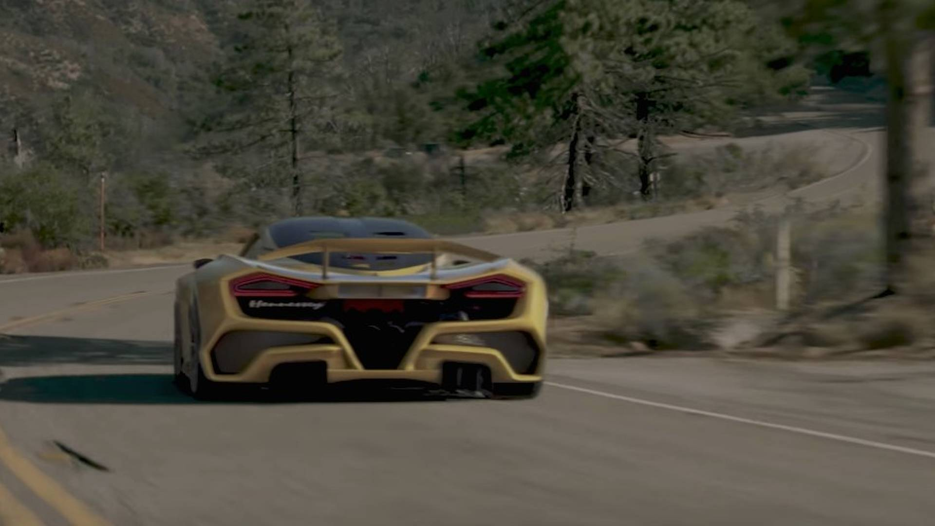 2018 Hennessey Venom F5 Hennessey Teases Venom F5 On Video Scheduled For Sema Debut