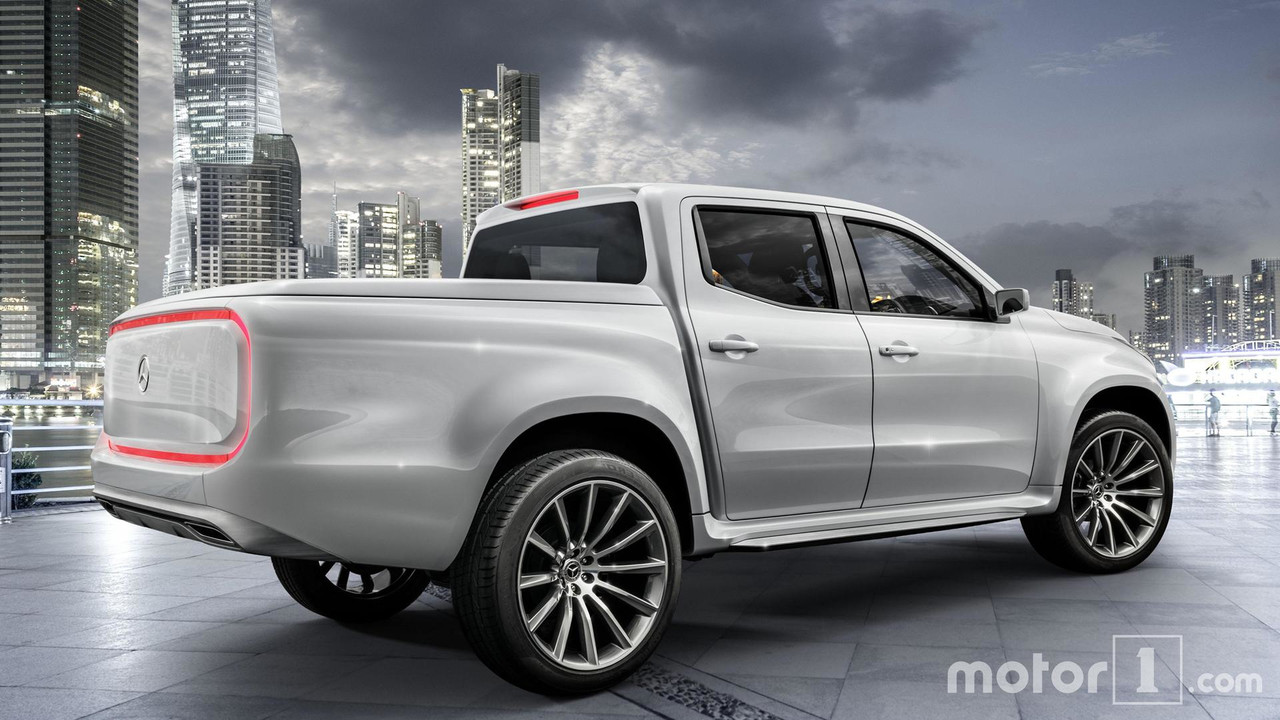 Classe X Mercedes X Class Pickup Car Review And Gallery