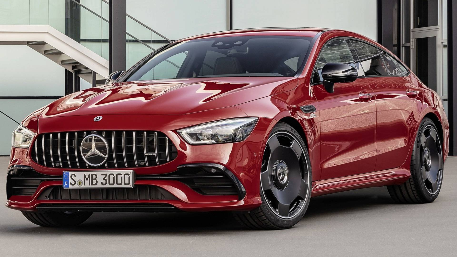 Mercedes Amg Mercedes Amg Gt 43 Four Door Coupe Debuts With Inline Six Engine