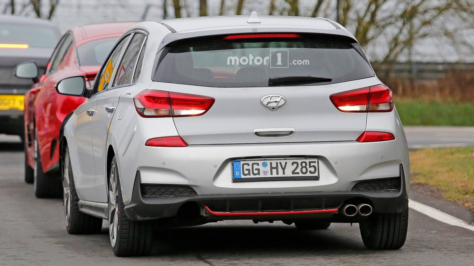 Hyundai I30 Wagon Interieur Hyundai I30 N Line Makes Spy Photo Debut
