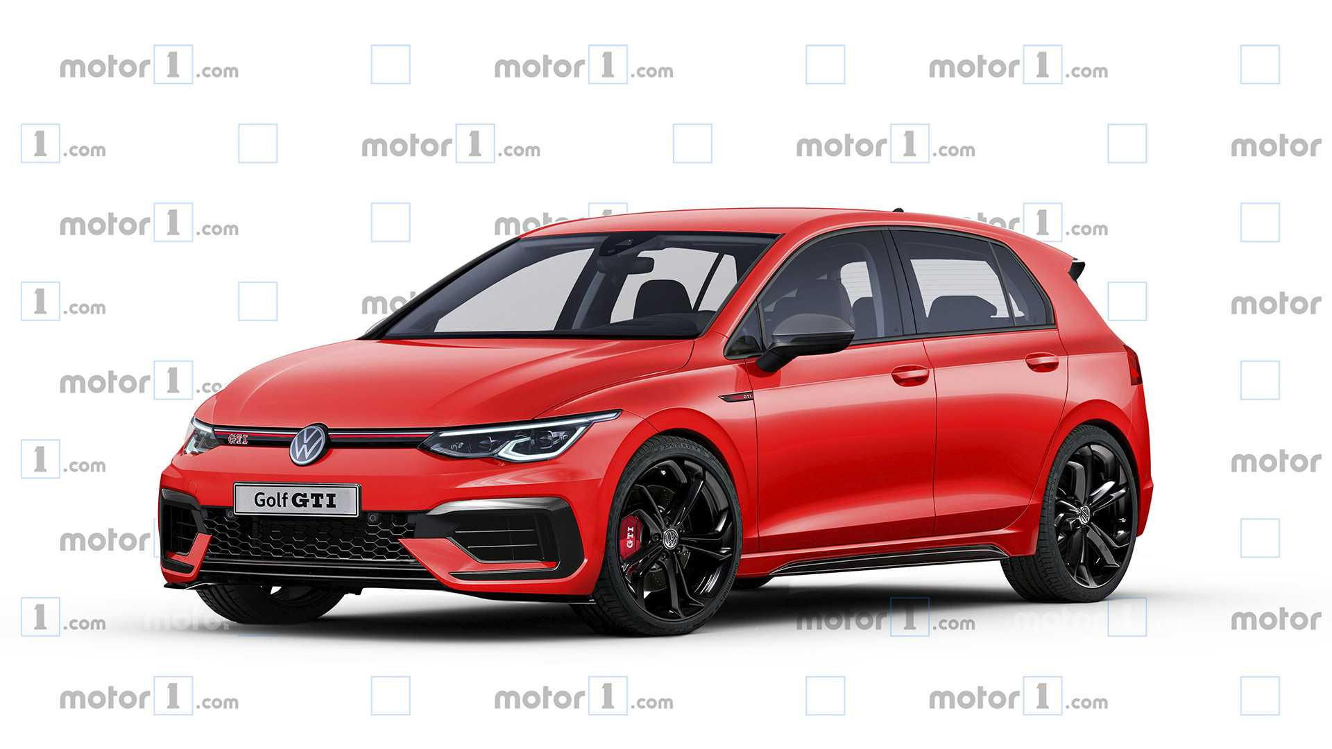 Red 1.com New Vw Golf Gti Tcr Allegedly Has Up To 286 Hp