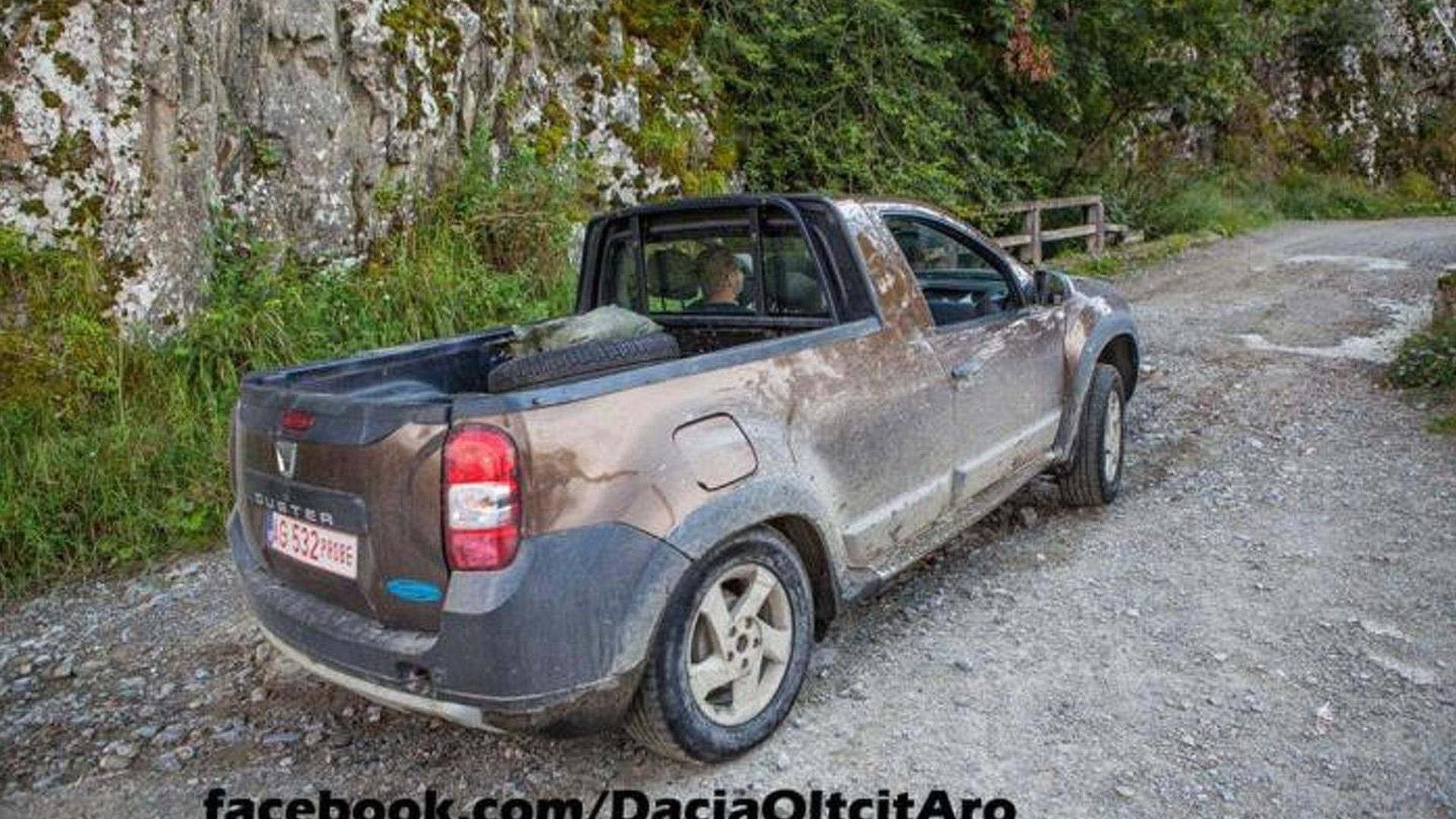 Dacia Coupe Dacia Duster Pick Up Spotted Undisguised Motor1 Photos