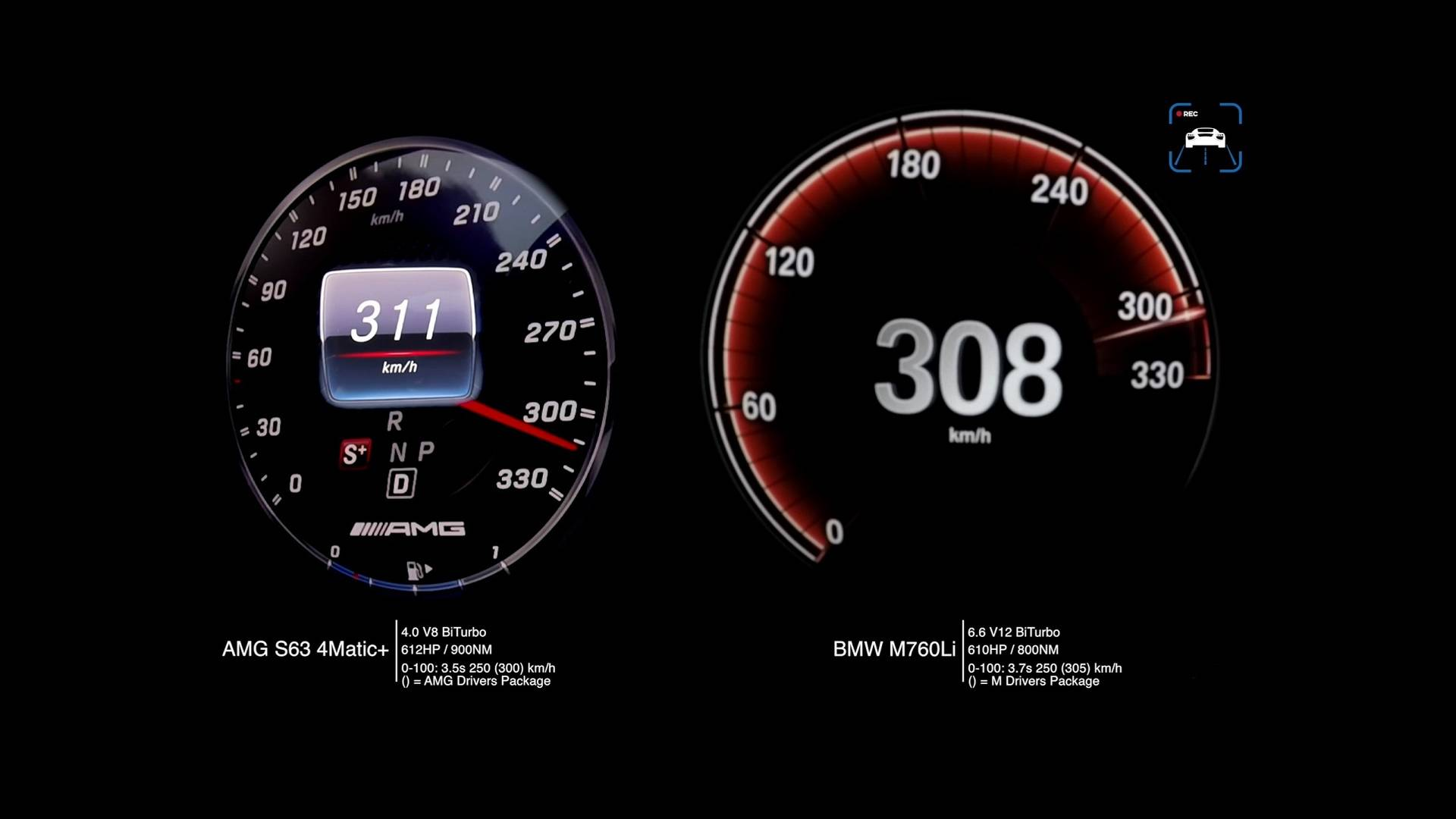 Mercedes Km Mercedes Amg S63 Vs Bmw M760li In Acceleration Top Speed Duels