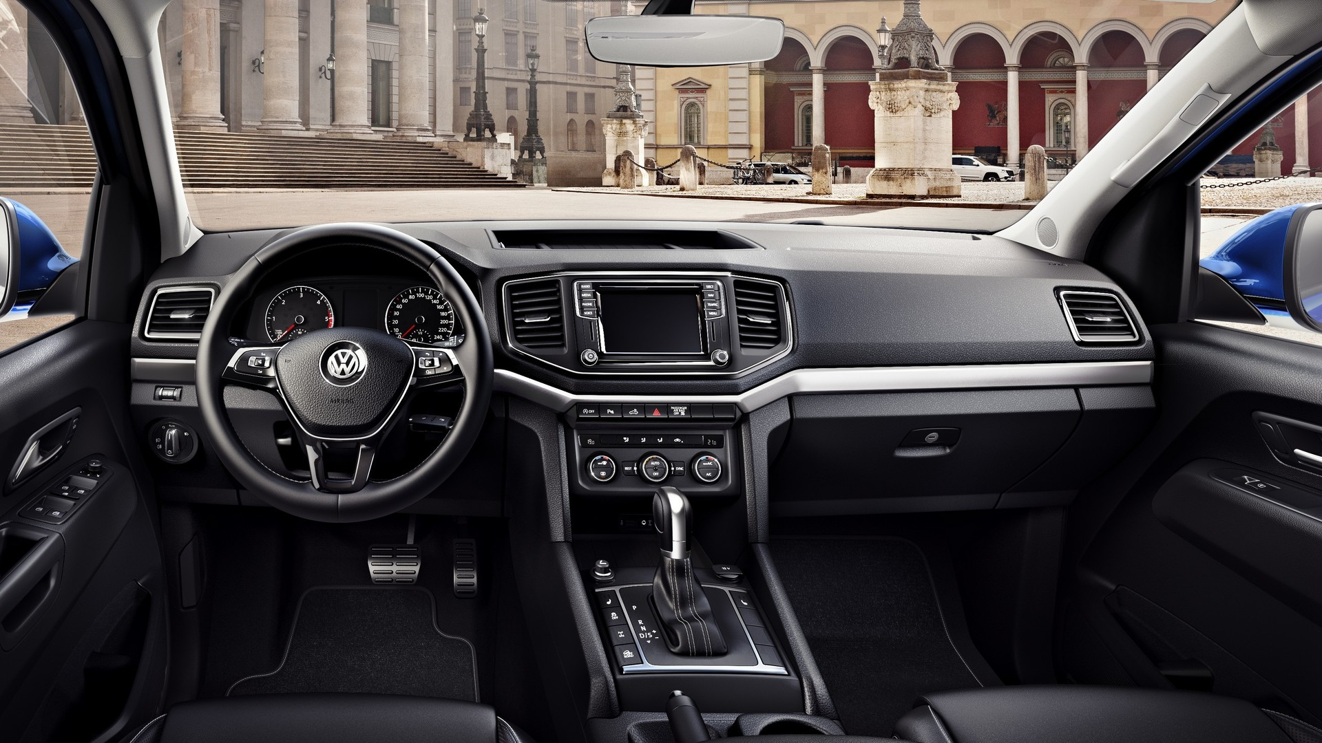 Interieur Vw Up Vw Amarok Facelift Shows Its Car Like Interior